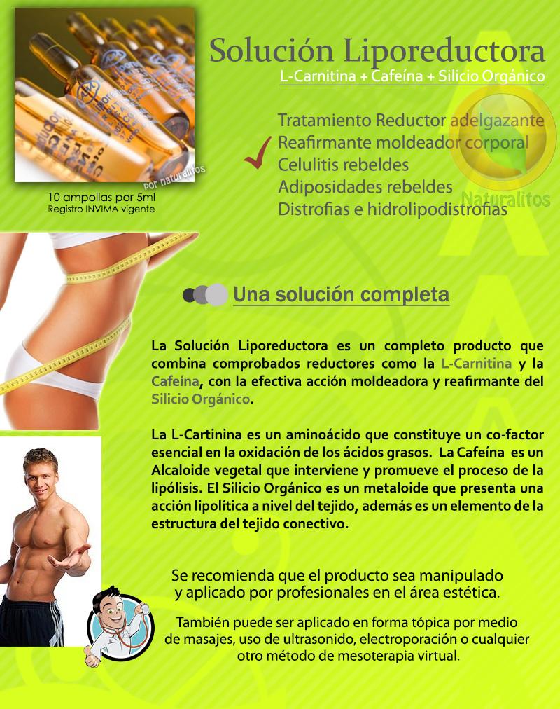 Solución Liporeductora Armesso Colombia Bogota